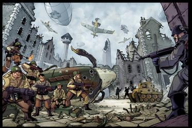 WW2 team FUBAR by Red-J