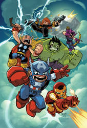 Chibi Kid Avengers