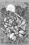 TMNT Amazing Adventures 1 cover pencils