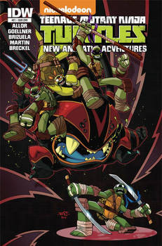 TMNT New Animated Adventures 21 Cover