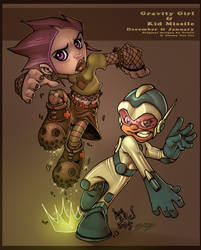 RCP Gravity Girl + Kid Missile by Red-J