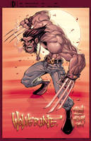 Wolverine in Colour by Red-J