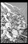 TMNT Amazing Adventures 2 cover pencils