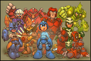 Megaman megamix :: RedJ:Seed by Red-J