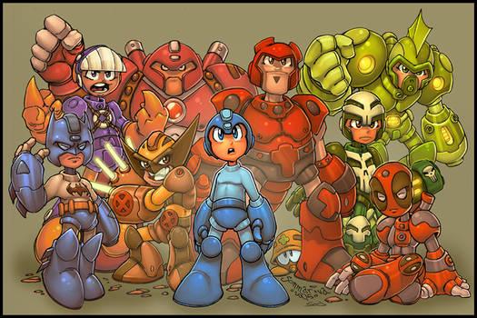 Megaman megamix :: RedJ:Seed
