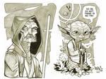 Yoda and Old Ben Kenobi