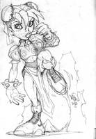 ChunLi sketch 02 by Red-J