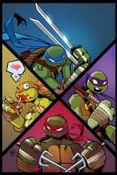 TMNT Amazing Adventures 3 Cover IDW