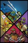 TMNT Amazing Adventures 3 Cover IDW