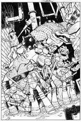 TMNT Amazing Adventures 4 COVER INK
