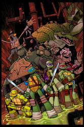 TMNT Amazing Adventures 4 COVER COLOUR