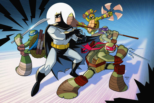 Batman TMNT Animated Crossover