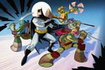 Batman TMNT Animated Crossover