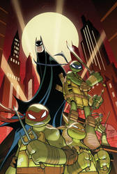 Batman TMNT Adventures Cover 01