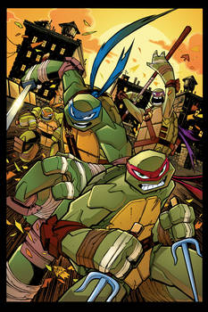 TMNT Amazing Adventures 5 cover art