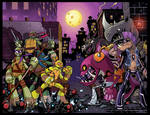TMNT Amazing Adventures 7 and 8 Joint Covers