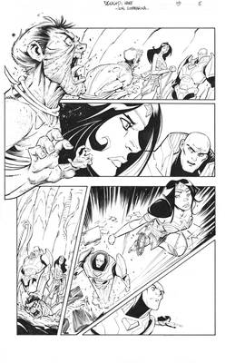 DCeased HAWE 13 Page 8 inks