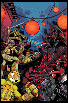 TMNT Amazing Adventures 9 Cover Art