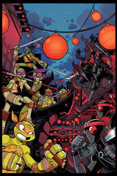 TMNT Amazing Adventures 9 Cover Art