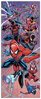Spiderverse Marvel 80th anniversary