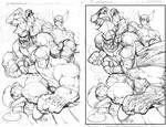 Big Four + Megaman