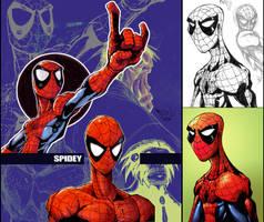 Sketch5:Spidey by Red-J