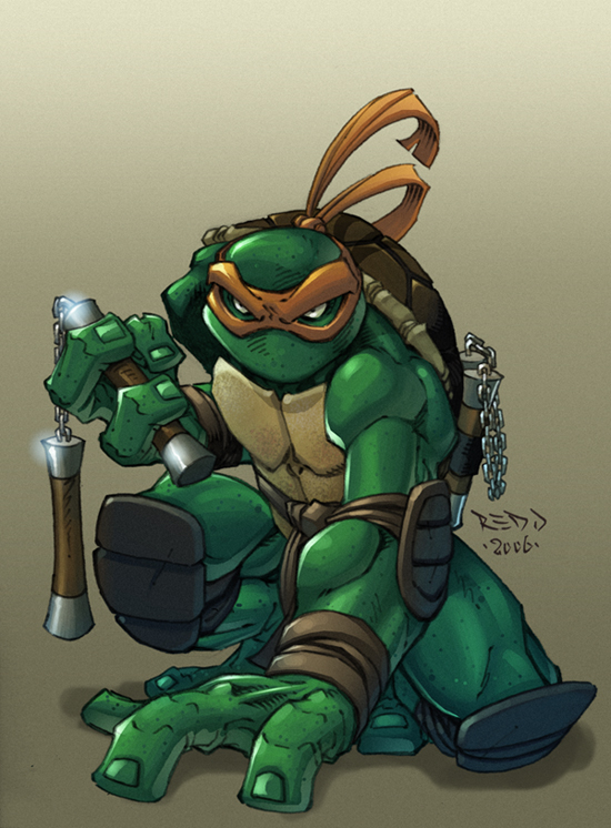 Ninja Turtle :: Mikey by Red-J on DeviantArt