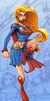 Supergirl by Red-J