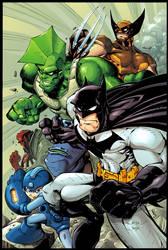 Bats, Dragon, Mega, Wolvie, HB