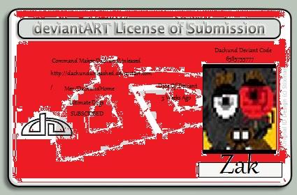 Zaks Deviant ID by DachundUNLEASHED