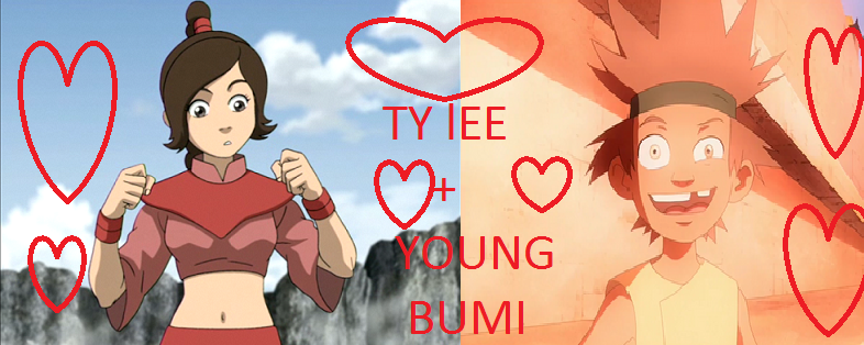Weird Pairing: Young Bumi And Ty Lee by rowdyroughman