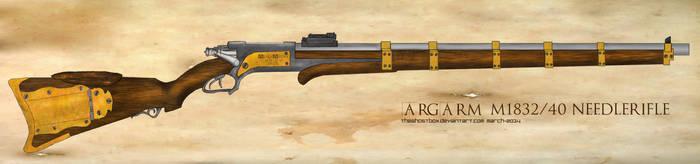 ARGARM M1832/40 Precision Needlerifle by TheGhostBox