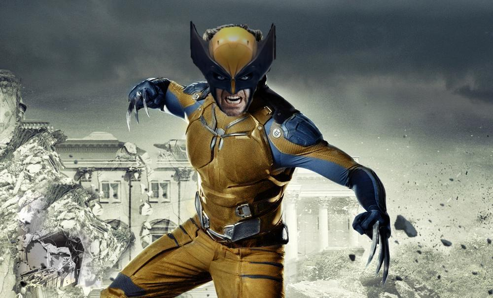 Hugh Jackman in Classic Wolverine Costume by ...