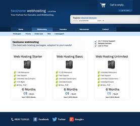 twoinone Webhosting for sale by sdwebmedia