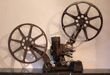 Bell Howell Film Projector by mostadorthsander