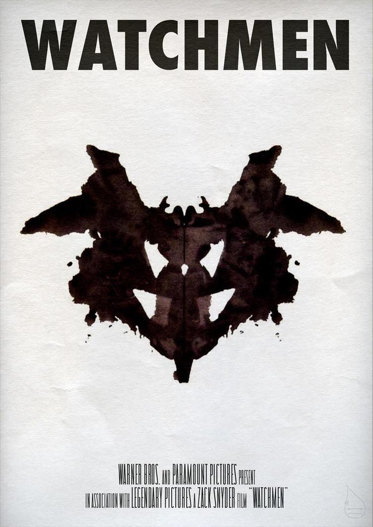 Watchmen Poster 'Rorschach' by lagota