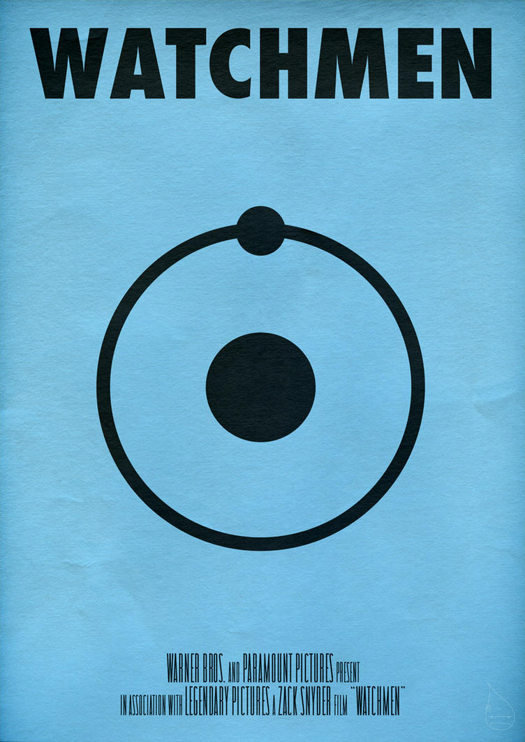 "Watchmen Poster ""Dr.Manhattan"" by lagota"