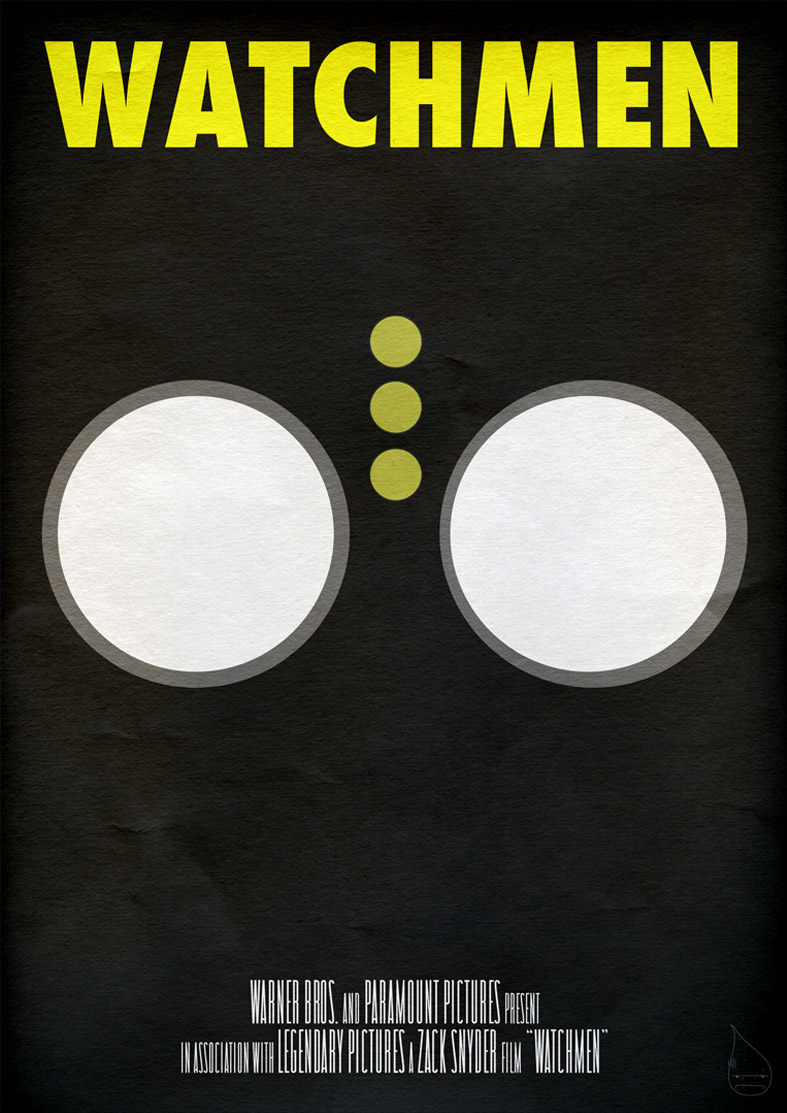 Watchmen Poster 'Nite Owl' by lagota