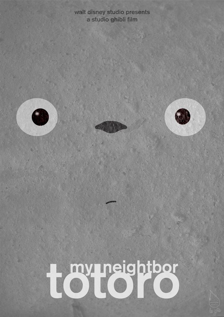 Ghibli Series 'Totoro' by lagota