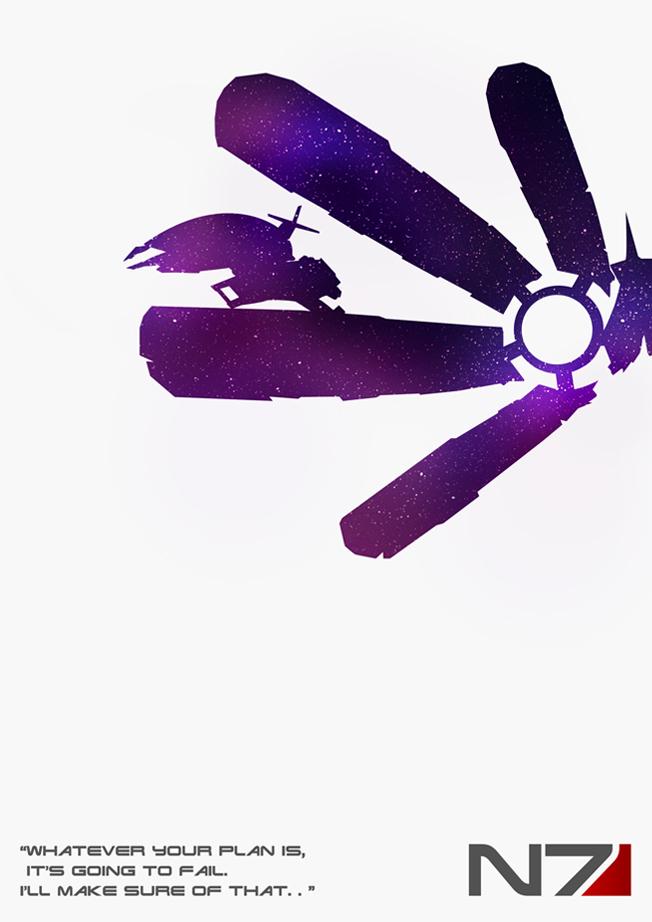 Mass Effect 1 Final Poster by lagota