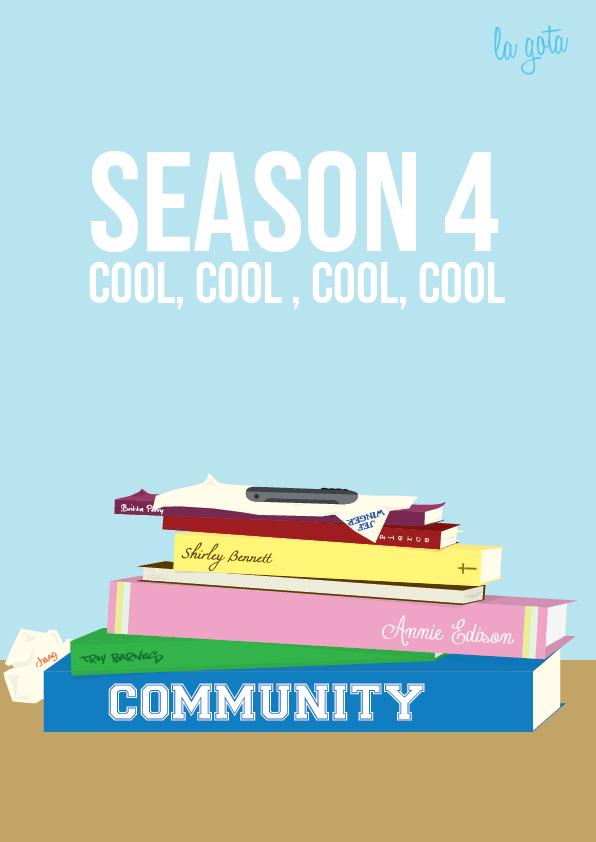 Community Season 4 - Cool, Cool, Cool, Cool. by lagota