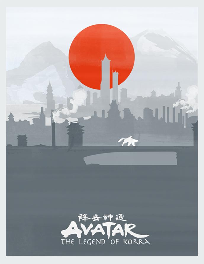 Avatar: The Legend of Korra Poster by lagota
