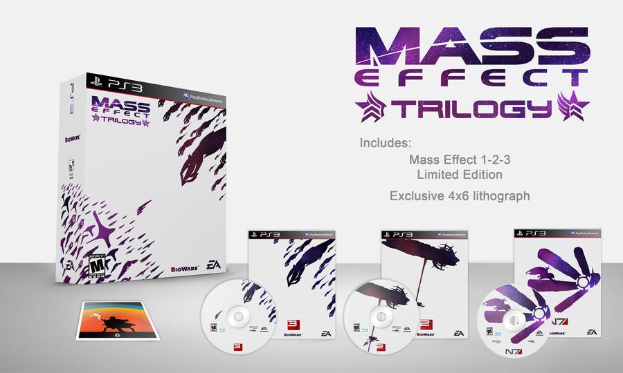 Mass Effect Trilogy Bundle - Special Edition by lagota