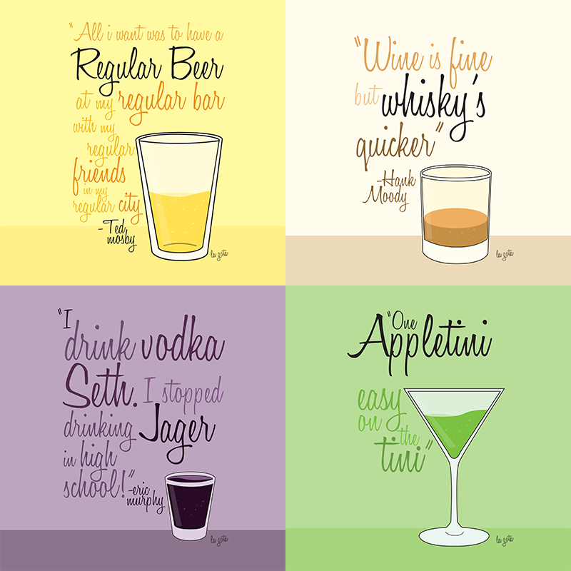 TV Drinks Quotes by lagota