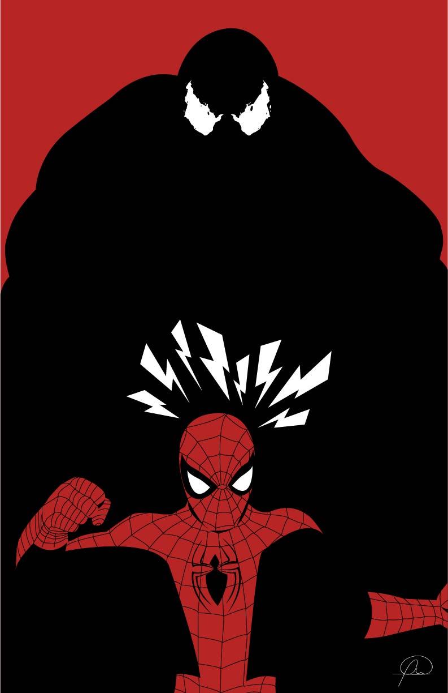 Amazing Spiderman vs Venom by lagota