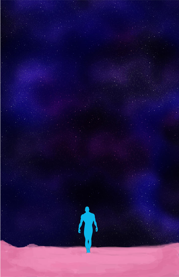 Human life ??? Dr. Manhattan by lagota