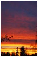 Espoo Sunset by Amblygon