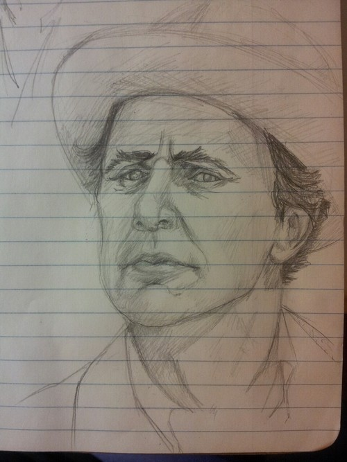 Seventh Doctor Sketch 2 by Mistical1