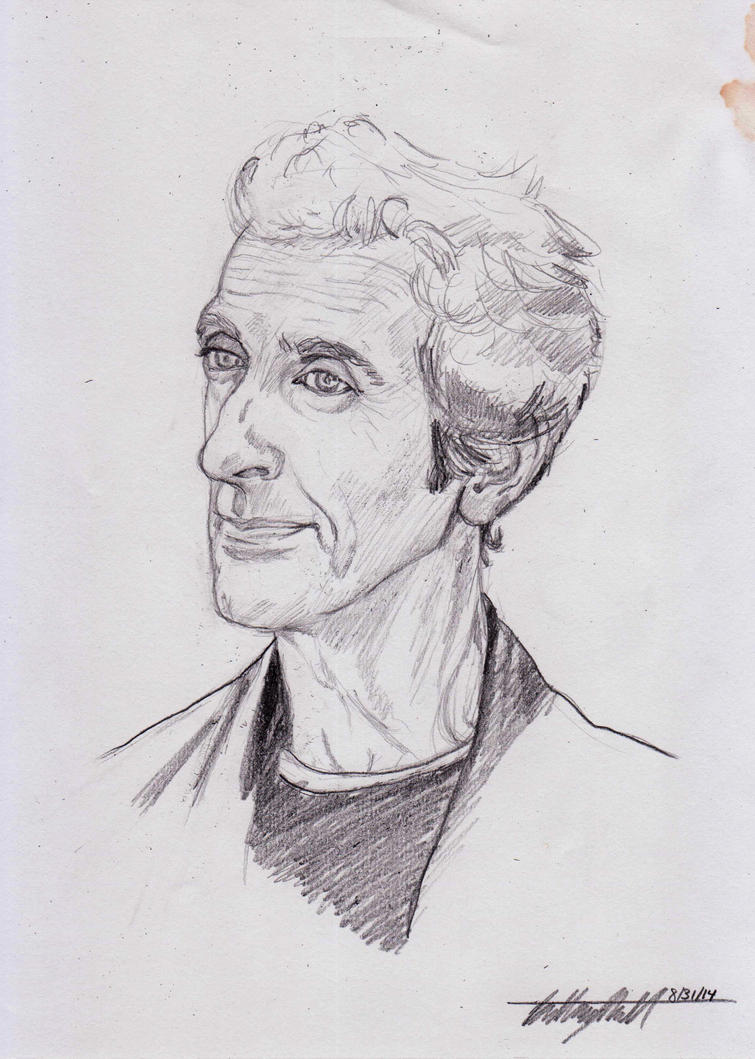 Peter Capaldi by Mistical1