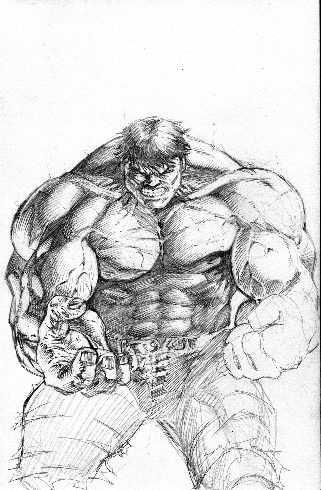 HULK sketch - work in progress by JMan-3H